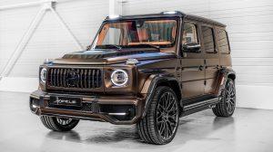 ¡Santo Hofele!  Este Mercedes-AMG G63 personalizado debe estar en un videoclip