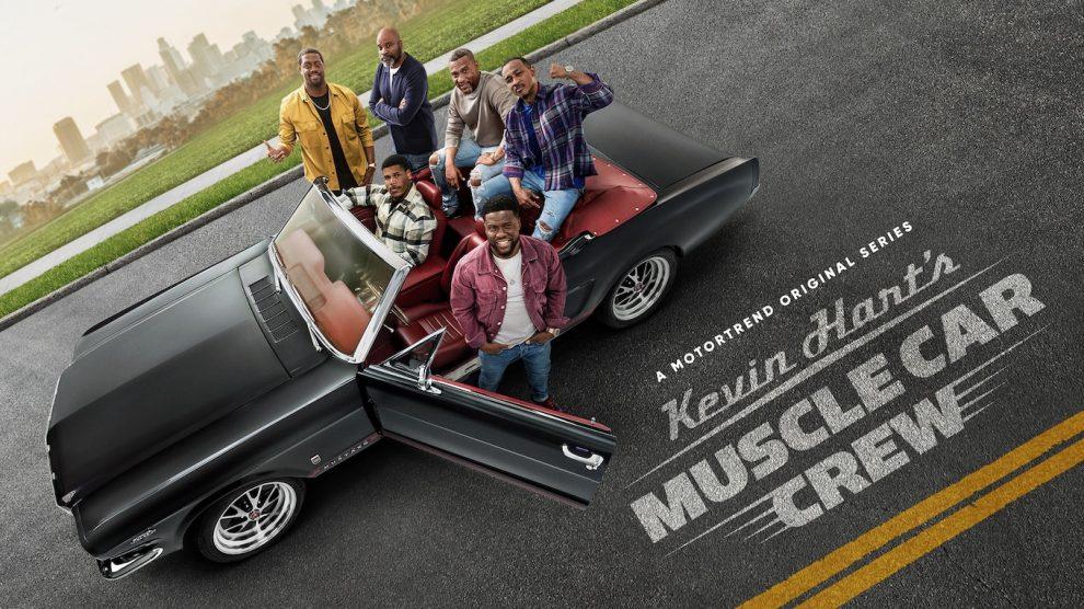 ¡Series nuevas!  El equipo Muscle Car de Kevin Hart llega el 2 de julio