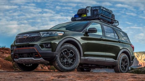 2021 Análisis inicial del Ford Explorer Timberline: explorando el territorio del jeep