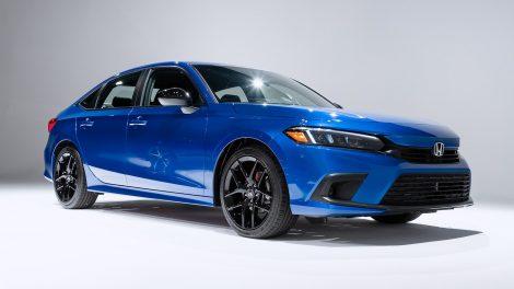 2022 La economía de combustible del Honda Civic Sedan aumenta, alcanza las 40 MPG