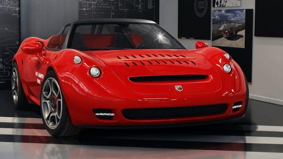 Alfa Romeo rinde homenaje al Abarth 1000 SP con Retro-Restyled 4C