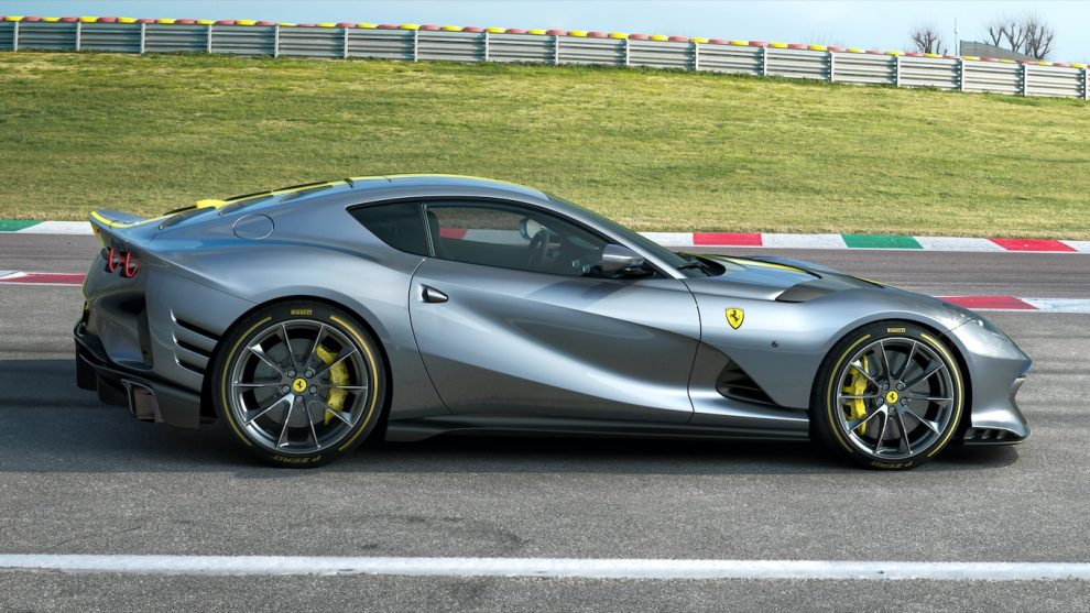 Análisis inicial del Ferrari 812 Competizione: el equipo A