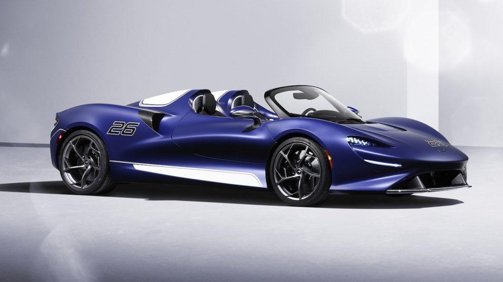 Anteriormente, sin parabrisas, 1,7 millones de dólares, McLaren Elva gana un parabrisas
