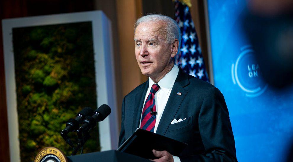 Biden, Calling for Action, compromete a EE. UU. A reducir a la mitad sus emisiones climáticas