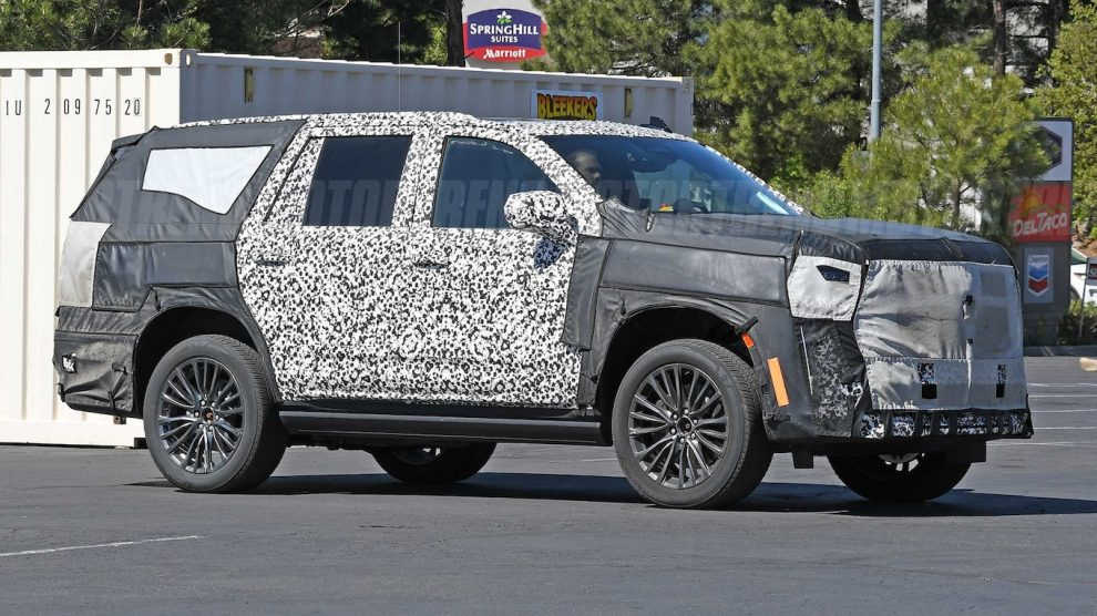 Cadillac Escalade-V Performance SUV-hemoth está en camino