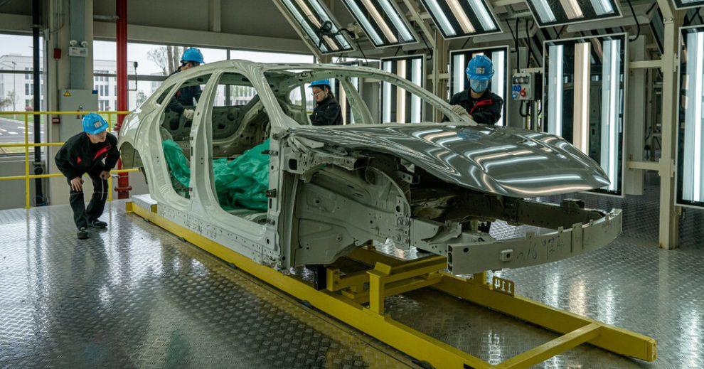 China debe controlar la producción de automóviles eléctricos