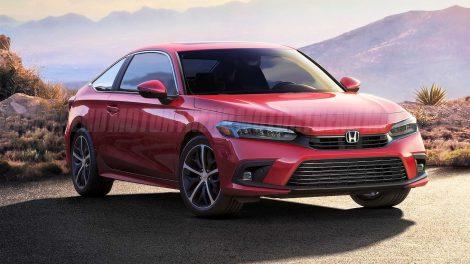 Conoce el hipotético Honda Civic Coupe 2022