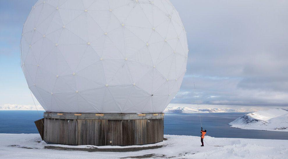 Esta es la estación ártica que mantiene conectados los satélites.