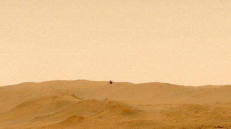 Helicóptero de la NASA Mars realiza vuelo unilateral para nueva misión