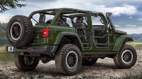 """Jeep Wrangler 4x PHEV recibe un kit de elevación de 2.0 """"y más de JPP"""