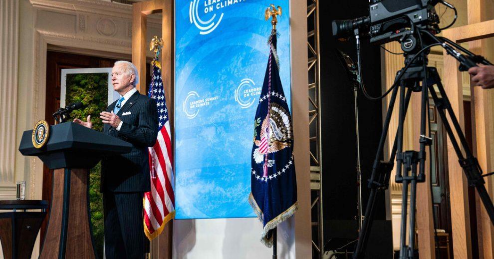 La cumbre climática de Biden establece una importante prueba del poder estadounidense