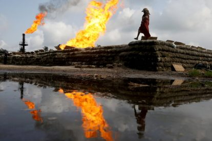 La quema de gas se desaceleró en 2020, según un estudio