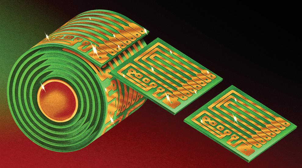 Los chips de computadora son el nuevo papel higiénico