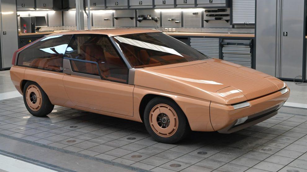 Mazda acaba de restaurar su increíble concepto Aria MX-81 diseñado por Bertone