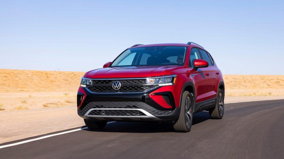 Volkswagen Taos 2022 gana el mejor MPG en carretera de su clase