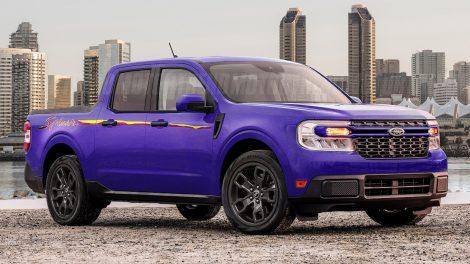 ¡Chapoteo!  Imaginamos una nueva y divertida variante de camioneta compacta Ford Maverick