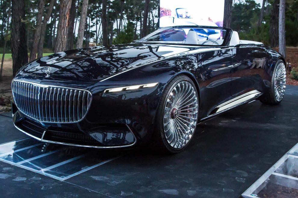 ¿El hombre más rico de Ciudad Gótica conduce un viejo concept car Mercedes-Maybach?