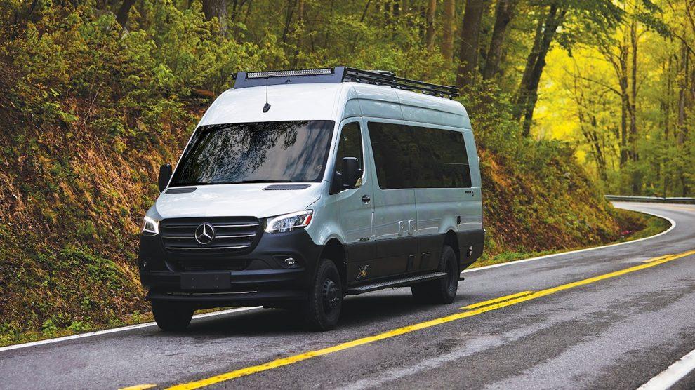 El 2022 Airstream Interstate 24X es una furgoneta de aventuras Boondocking