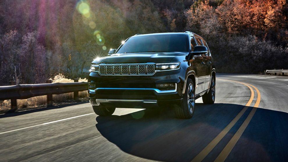 El Jeep Grand Wagoneer 2022 obtiene MPG, pero no muchas