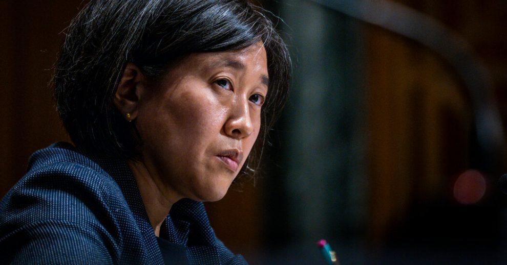El embajador Tai describió el objetivo de Biden de una política comercial centrada en los trabajadores