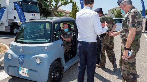 En el ejército ahora: conoce el Citroën Ami Mil-Spec