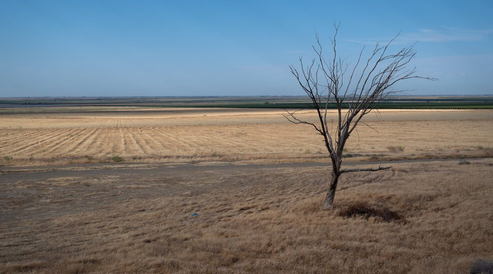 Es una de las tierras agrícolas más ricas de América.  Pero, ¿qué hay sin agua?
