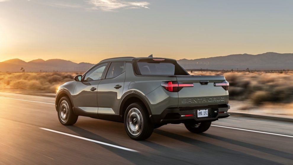 Hyundai Santa Cruz 2022: Camioneta pequeña, no es exactamente una gran economía de combustible