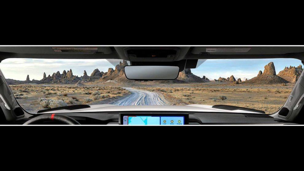 La camioneta Toyota Tundra 2022 insiste en que veas su nuevo interior