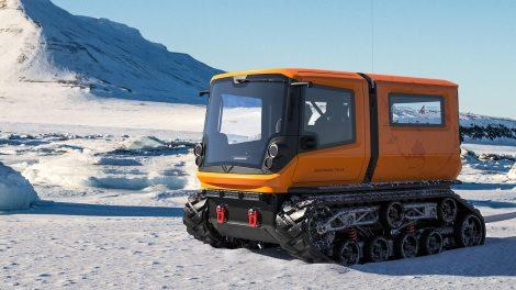 Venturi Antarctica destinado a la exploración polar totalmente eléctrica