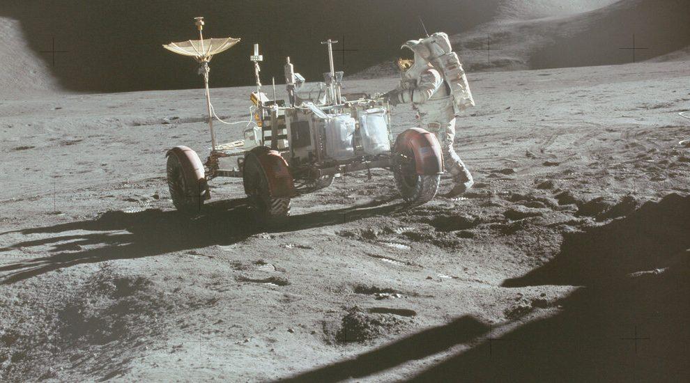 Hace 50 años, la NASA puso un automóvil en la luna.