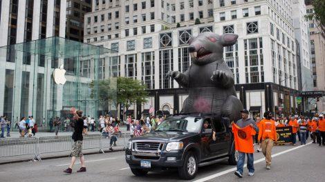 La Junta Nacional de Relaciones Laborales otorga una extensión para ratas inflables.
