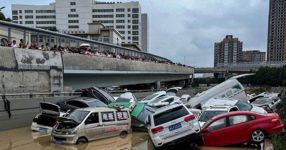 La crisis climática convierte el metro del mundo en zonas inundables