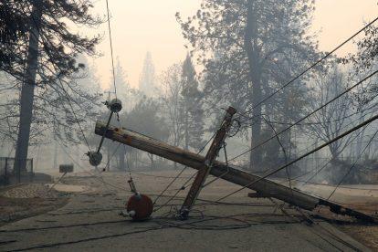 PG&E tiene como objetivo reducir el riesgo de incendios forestales enterrando muchas líneas eléctricas