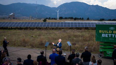 Biden pide acción climática: 'No tenemos mucho más de 10 años'