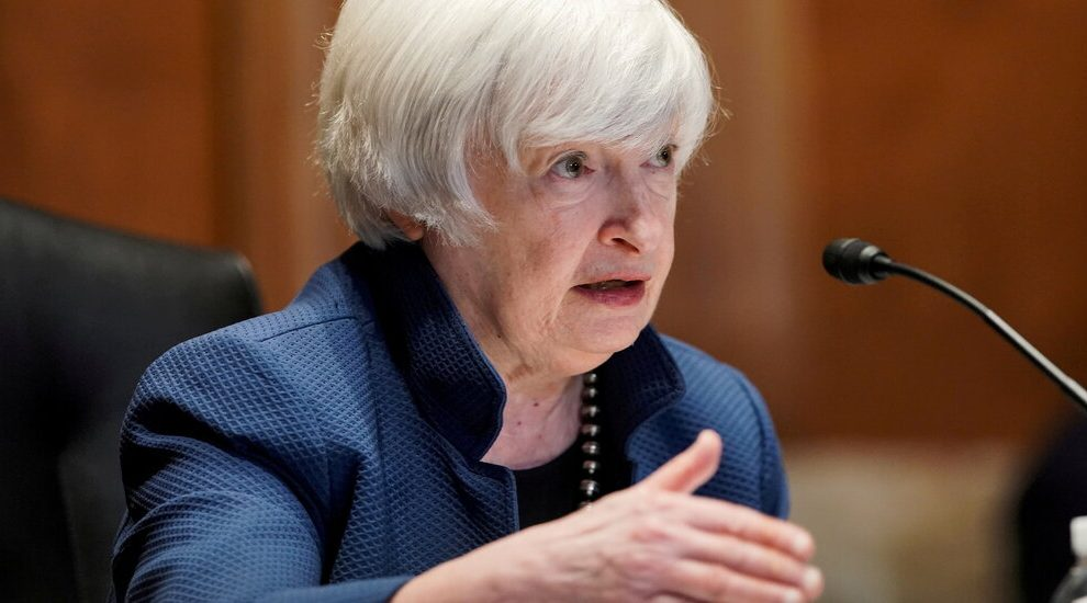 El incumplimiento de la deuda estadounidense podría ocurrir en octubre, advierte Yellen