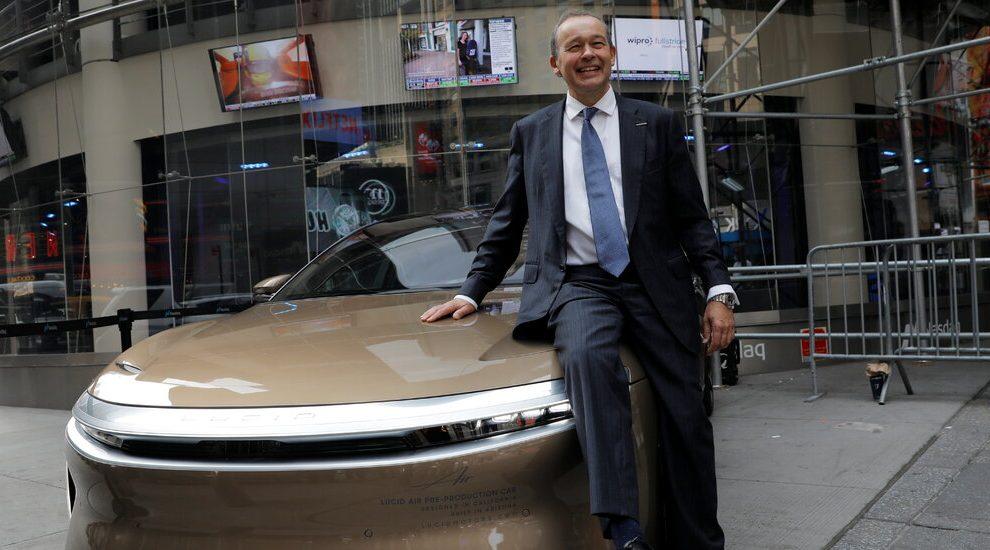 Lucid Motors supera a Tesla en alcance, recorriendo 520 millas con una carga, dice la EPA